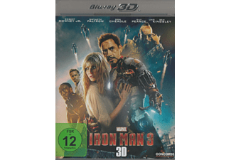 Iron Man 3 (3D) [3D Blu-ray]