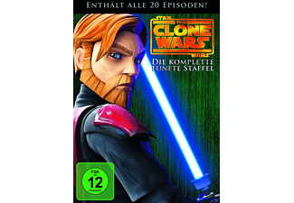 Star Wars: The Clone Wars - Staffel 5 [DVD]