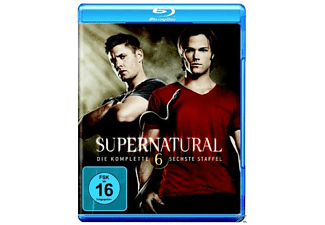 Supernatural - Die komplette 6. Staffel [Blu-ray]