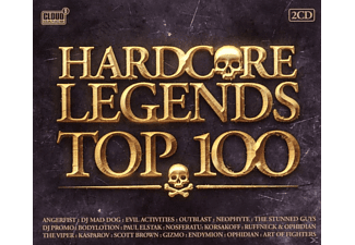 VARIOUS - Hardcore Legends Top 100 - (CD)