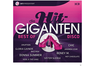 VARIOUS - Die Hit Giganten - Best Of Disco - (CD)
