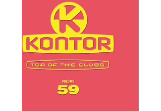 VARIOUS - Kontor Top Of The Clubs Vol.59 [CD]