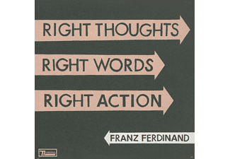 Franz Ferdinand - RIGHT THOUGHTS,RIGHT WORDS,RIGHT ACTION - (CD)