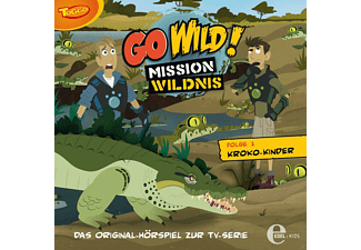 Go Wild!-Mission Wildnis - 01: Kroko-Kinder - (CD)