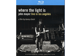John Mayer - WHERE THE LIGHT IS - JOHN MAYER LIVE IN LOS ANGELE - (Blu-ray)