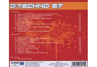 Various - D. Techno 27[Box-Set] [CD]