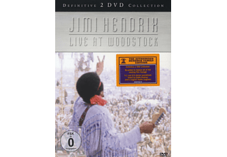 Jimi Hendrix - LIVE AT WOODSTOCK [DVD]