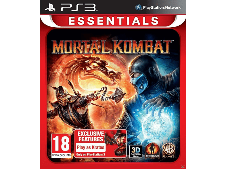 Mortal Kombat Essentials PlayStation 3 gaming games ps3 games