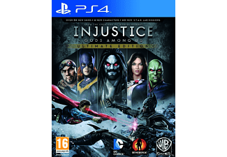 Injustice: Gods Among Us Ultimate Edition PS4
