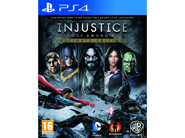 Injustice: Gods Among Us Ultimate Edition PS4 gaming   offline sony ps4 παιχνίδια ps4