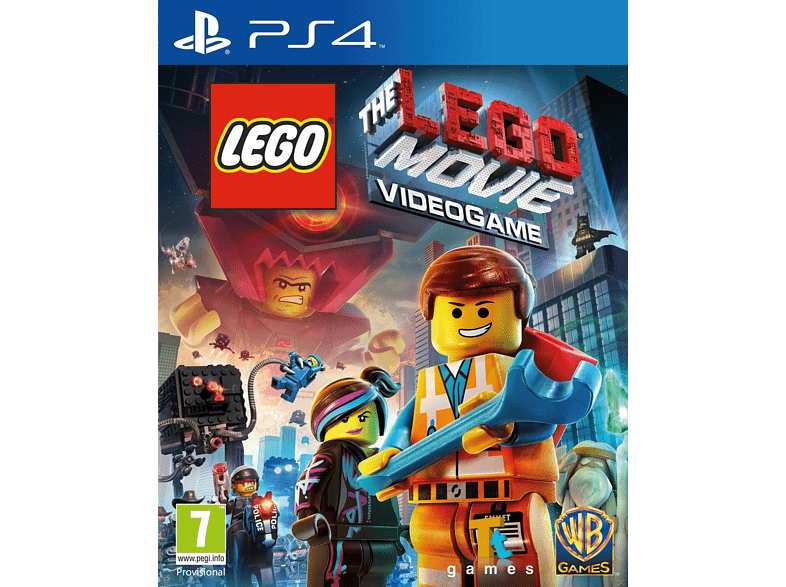 LEGO Movie The Videogame PlayStation 4 gaming games ps4 games