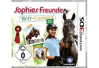 Sophies Freunde: Reit-Champion 3D (Software Pyramide) - Nintendo 3DS