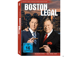 Boston Legal - Staffel 5 - (DVD)