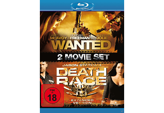 Wanted / Death Race - Extended Version - (Blu-ray)