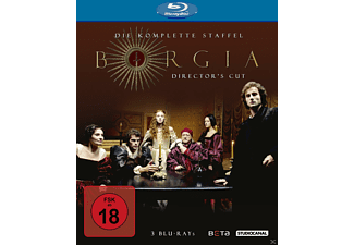Borgia - Die komplette 1. Staffel - Director's Cut [Blu-ray]