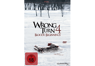 WRONG TURN 4 BLOODY BEGINNINGS Horror DVD