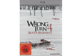 WRONG TURN 4 BLOODY BEGINNINGS Horror Blu-ray