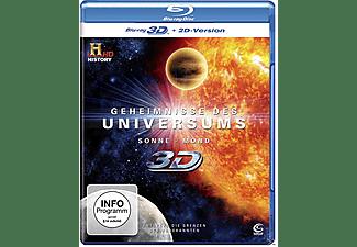 Geheimnisse des Universums - Sonne / Mond (3D) - (3D Blu-ray)