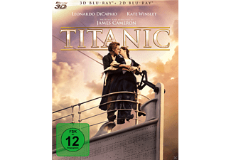 Titanic Bluray Box [3D Blu-ray (+2D)]