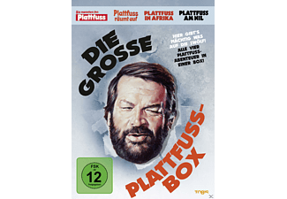 Bud Spencer - Die Plattfuss-Box - (DVD)