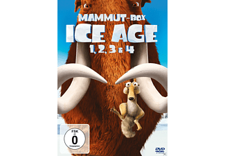 Ice Age 1-4 Box Animation/Zeichentrick DVD
