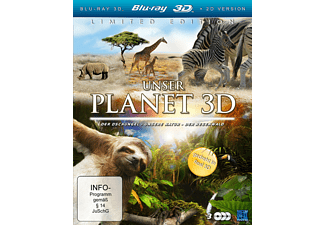 Unser Planet 3D (3 Disc Set) Box Natur Blu-ray 3D