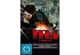 Mission: Impossible - The Ultimate Missions 1-4 - (DVD)