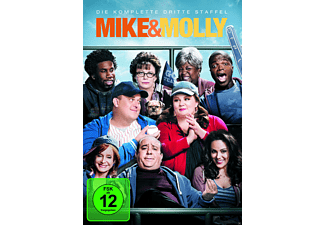 Mike & Molly - Staffel 3 - (DVD)