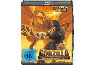 Godzilla, Mothra and King Ghidorah: Giant Monsters All-Out Attack - (Blu-ray)