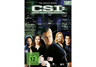 CSI: Crime Scene Investigation - Staffel 2 - (DVD)