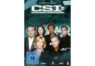 CSI: Crime Scene Investigation - Staffel 1 - (DVD)