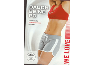We Love - Bauch Beine Po - (DVD)