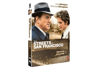 Streets of San Francisco S1 Del 1 Action DVD