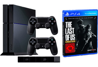 SONY PS4 Konsole + 2. Controller +  PS4-Kamera + The Last of Us (Remastered)