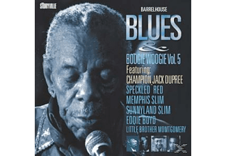 VARIOUS, Various (Ft.Champion Jack Dupree A.O.) - Barrelhouse Blues & Boogie Woogie 4 - (CD)