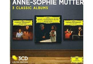 Anne-Sophie Mutter - 3 Classic Albums Anne-Sophie Mutter Ltd.Ed. - (CD)