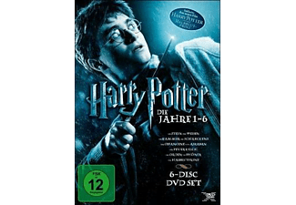 Harry Potter 1-6 - (DVD)
