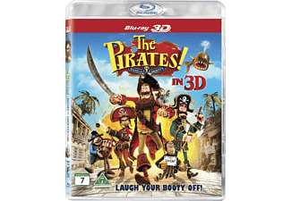Piraterna! Familj Blu-ray 3D