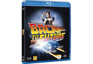 Back to the Future Trilogy Box Science Fiction Blu-ray
