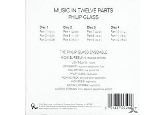 Philip Glass Ensemble - Music In Twelve Parts - (CD)