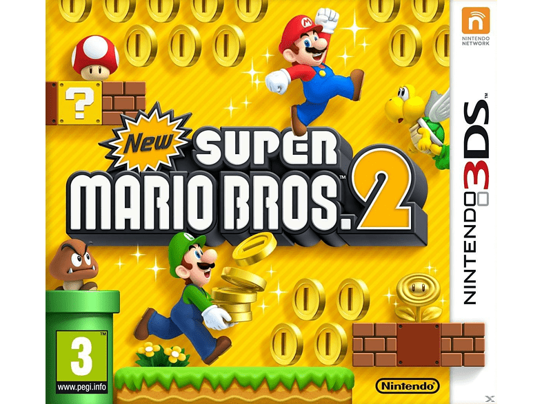 New Super Mario Bros 2 Nintendo 3DS gaming games nintendo 2ds  3ds games gaming φορητές κονσόλες games 2ds  3ds gami