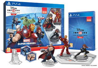 Infinity 2.0: Marvel Super Heroes Starter Pack PS4