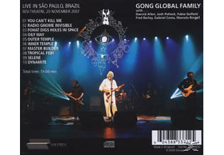 Gong Global Family - LIVE IN BRAZIL 2007 - (CD)