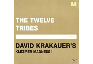 Klezmer Madness Krakauer's David - The Twelve Tribes [CD]