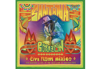 Carlos Santana - Corazón-Live From Mexico: Live It To Believe It [DVD + CD]