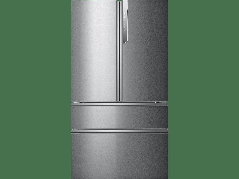 Kühlschrank French Door : Haier hb25fssaaa edelstahl mediamarkt
