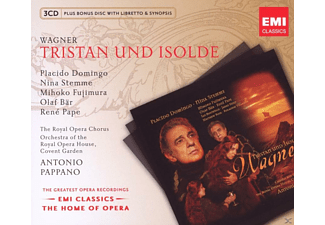 Placido Domino, Nina Stemme, Mihoko Fujimura, VARIOUS, Royal Opera Chorus, Orchestra Of The Royal Opera House - Tristan Und Isolde [CD]