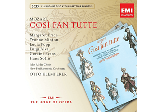 VARIOUS, New Philharmonia Orchestra, John Alldis Choir - Cosi Fan Tutte - (CD)