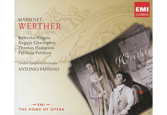 Gheorghiu, Alagna, Pappano, Angela Gheorghiu, Thomas Hampson, Patricia Petibon, London Symphony Orchestra, Alagna Roberto - Werther - (CD)