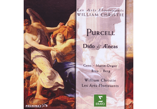 William Christie, Sophie Marin-degor, Claire Brua, Nathan Berg, Les Arts Florissants, Gens Veronique - Dido & Aeneas [CD]